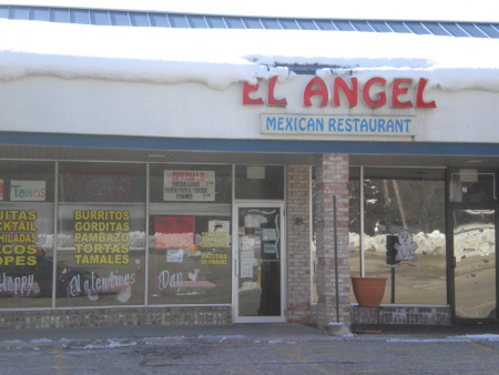 Photo of the front of a Mexican restaurant.